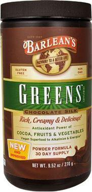 Picture of Barlean's Greens, Chocolate Silk, 9.52 oz