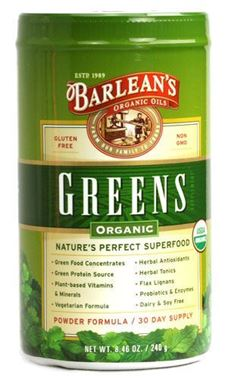 Picture of Barlean's Greens, Organic, 8.46 oz