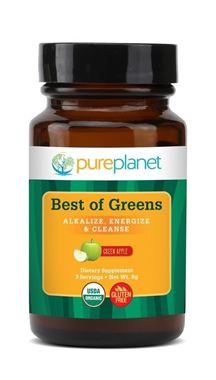 Picture of Pureplanet Best of Greens Organic, Green Apple, 30 servings